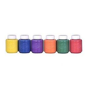 Tintas Guache Lavavel Kids Paint - Crayola Infantil Com 6 Unidades