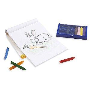 Caderno de Desenho Infantil Melissa & Doug Para Colorir