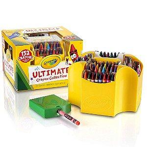 Estojo de 4 Lados de Lápis Crayola Ultimate Infantil Com 152 cores