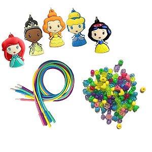 Kit de Colares Infantil Tara Toy Disney Colares de Atividade das Princesas