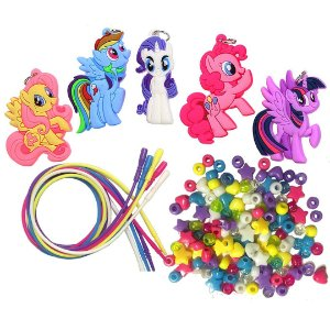 Kit de Colares Infantil My Little Pony Colares de Atividade de Pôneis