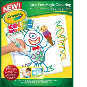 Refil de Folhas Color Wonder Crayola Infantil Com 30 Folhas