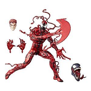 Boneco Venom Marvel  Série Legends Carnage com Partes de Montar