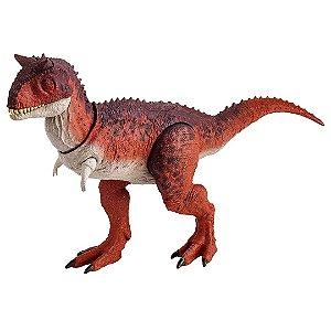Dinossauro Carnotauro Jurassic World 2 Figura Básica com Ataque de Ação