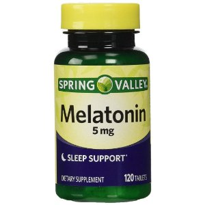 Melatonina Spring Valley Suporte para Dormir 5mg (120 Tabletes)