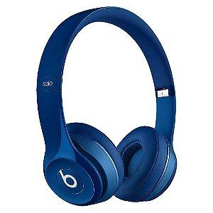 Fone de ouvido Beats Solo2 Original c/ Fio – Azul Escuro
