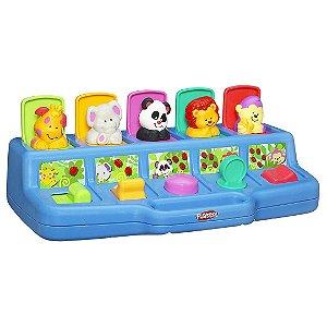 Brinquedo Infantil de Atividades Playskool Noções Básicas Busy Poppin Pals Toy Para Bebê