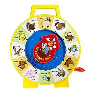 Brinquedo Infantil Fisher Price O Fazendeiro Diz com Sons de Animais