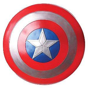 Escudo Infantil Voador Avengers Capitão América Shield com 30cm