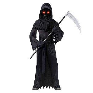 Fantasia Infantil Sinistra Phantom Costume Ceifador da Morte