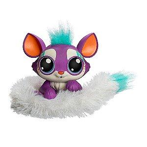 Boneca Lil' Gleemerz Roxa Mattel Infantil Brinquedos Interativos LED