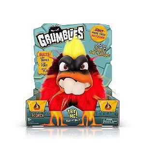 Grumblies Scorch Infantil Monstros Interativos Gritam E Pulam