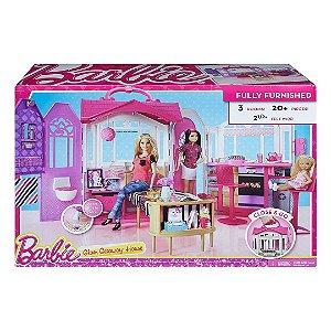Kit Casa de Ferias Maleta da Barbie Infantil Glam Getaway