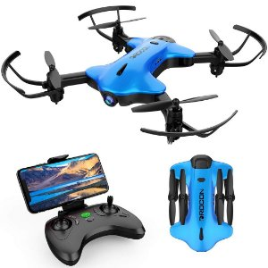Drone DROCON Ninja Dobrável Câmera 720P FPV HD Wi-Fi Rotativa Hold sensor de Gravidade