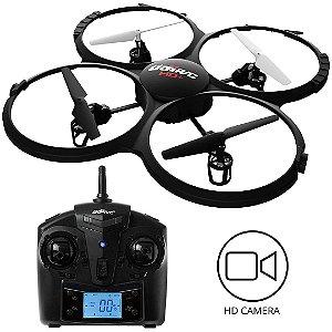 Drone U818A Discovery Force1 RC Quadcopter 720p Câmera + Micro SD