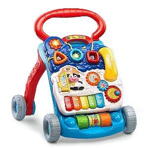 Andador de Atividades Infantil Vtech para Bebê Com Painel de Atividades Removível