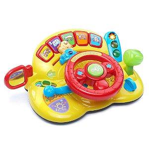 Volante Descubra E Aprenda Vtech Infantil Brinquedo de Aprendizagem