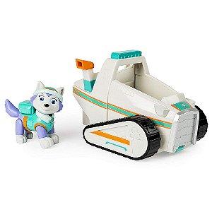 Patrulha Canina Paw Patrol Infantil Veículo com Personagem Everest