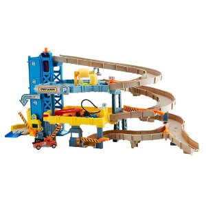 Garagem infantil em 4 Níveis Matchbox Missão Playset de Garagem Brinquedos Divertido