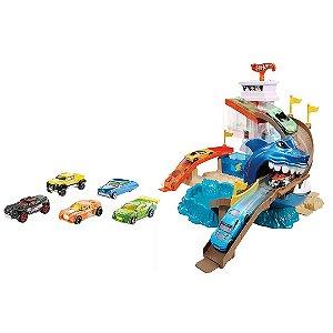 Color Change Ataque Tubarão BGK04 Hot Wheels - Mattel