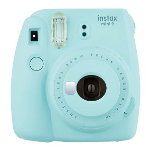 Câmera Instantânea Fujifilm Instax Mini 9 Azul Gelo