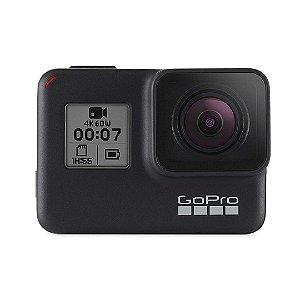 Câmera de Ação Digital GoPro Hero 7 12MP Impermeável com Tela de Toque 4K e Video HD