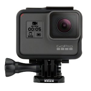 Câmera de Ação Digital Impermeável Gopro Hero 5 Preto 4K HD Video 12MP