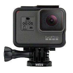 Câmera de Ação Digital Impermeável Gopro Hero 5 Preto 4K HD Video 12MP