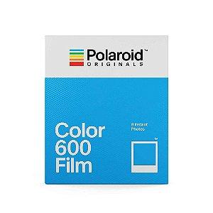 Papel Fotográfico Filme Polaroid Originals 4670 Color Filme 600 Branco