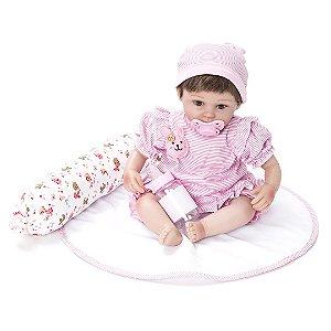 Boneca Laura Baby Nanda - Bebe Kaydora Reborn