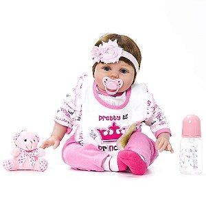 Bebê Reborn Kaydora Princesa