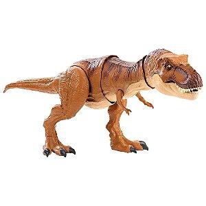 Dinossauro T Rex Jurassic World Infantil Mega Mordida