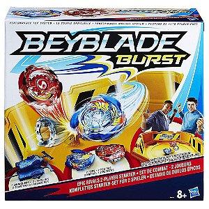 Beyblade Kit Explosão Infantil Duelos Epicos