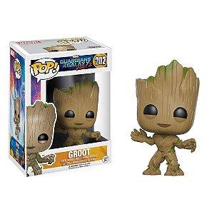 Boneco Funko Pop Groot Infantil Personagem Guardiões da Galáxia 2
