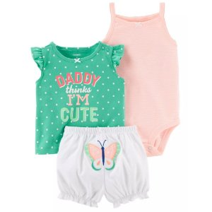 Conjunto Daddy Thinks I´m Cute Carter´s