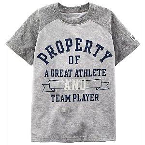 Camiseta Grande Jogador Carter´s