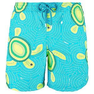 Bermuda Vilebrequin Swimwear Mosaico Tartarugas