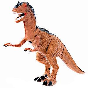 Dinossauro Grande T - Rex Jurassic World Com Controle Remoto e Infravermelho