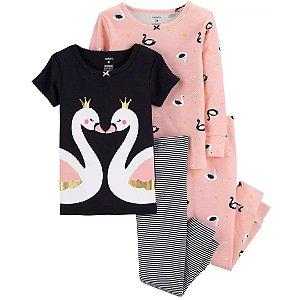 Conjunto Pijama 4 Peças Cisney Carter´s