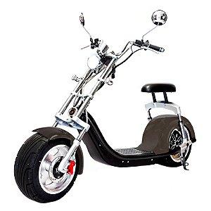 Moto Scooter Elétrica CityCoco 1500W Bateria 20Ah Chumbo  H7