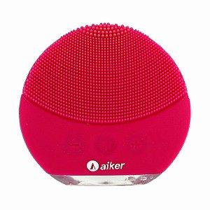 Esponja Massageadora Para Limpeza Elétrica Pink