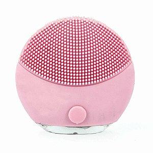 Esponja Massageadora Para Limpeza Eletrica  - Rosa