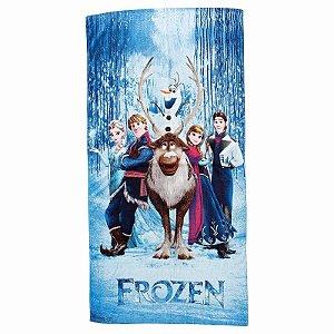 Toalha De Banho Frozen Felpuda Infantil Personagens