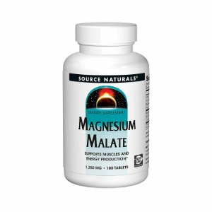 Suplemento Magnesium Malate 1250mg Source Naturals