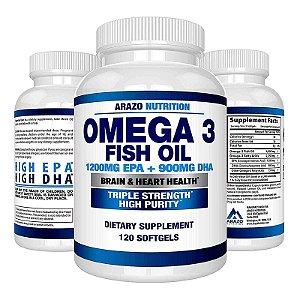 Suplemento Omega 3 Fish Oil Óleo De Peixe 2250mg