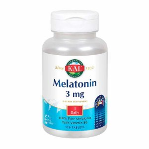 Suplemento Melatonina Kal 3mg 120 Tablets