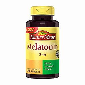 Suplemento Nature Made Melatonina 3mg 240 Tablets