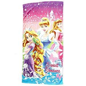 Toalha De Banho Infantil Princesas Felpuda Personagens