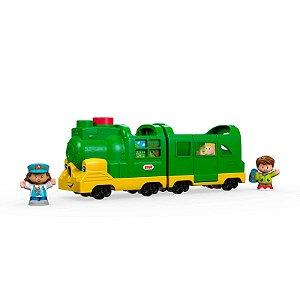 Brinquedo Trenzinho de Passageiros Little People Fisher-Price