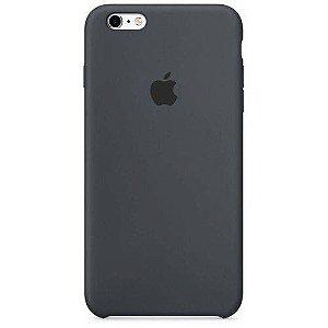 Capa iPhone 6 e 6s Silicone Case Apple Grafite